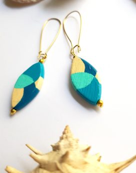 Gebetnout bijoux fantaisie lyon mode tendance bijouterie femme Oullins artisan endeavour camaieu turquoise bleu