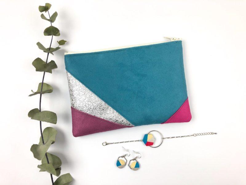 Gebetnout bijoux fantaisie lyon mode tendance bijouterie femme Oullins artisan collaboration thealouise pochette