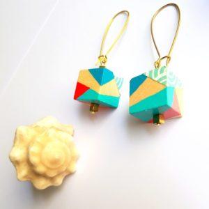 Gebetnout bijoux fantaisie lyon mode tendance bijouterie femme Oullins artisan endeavour bois cube