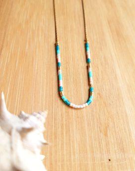 Gebetnout bijoux fantaisie lyon mode tendance bijouterie femme Oullins artisan endeavour collier miyuki