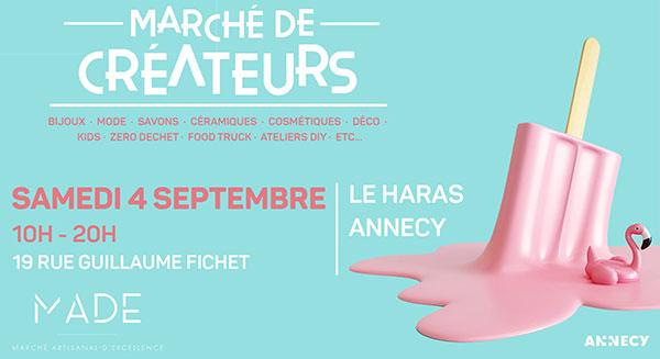 Gebetnout bijoux fantaisie lyon mode tendance bijouterie femme Annecy artisan marché créateur made haras lac septembre