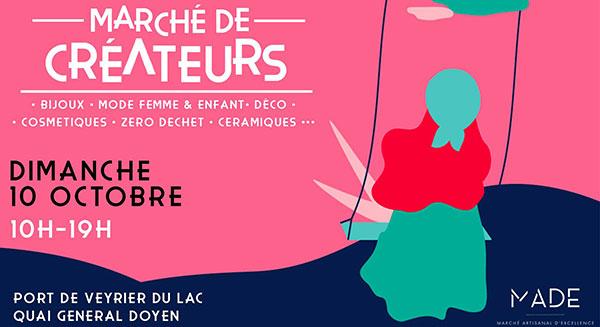 Gebetnout bijoux fantaisie lyon mode tendance bijouterie femme Annecy artisan marché créateur made veyrier lac septembre